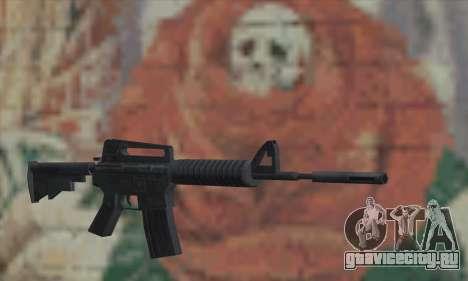 M4A1 из Saints Row 2 для GTA San Andreas