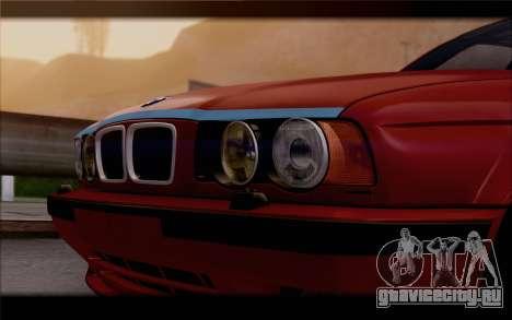 BMW E34 для GTA San Andreas вид справа