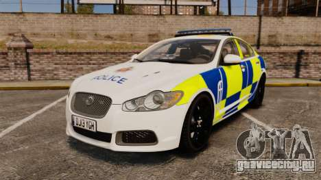 Jaguar XFR 2010 Police Marked [ELS] для GTA 4