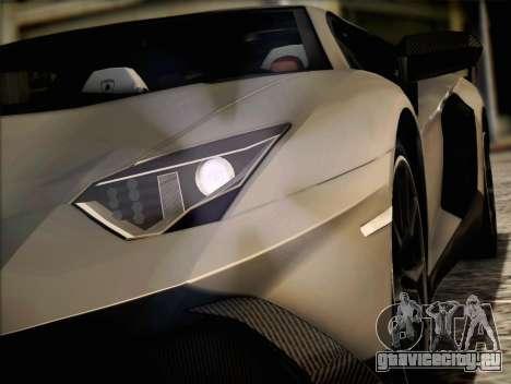 Lamborghini Aventador LP720 для GTA San Andreas вид слева