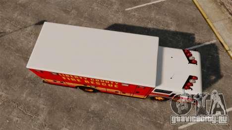 Hazmat Truck LCFR [ELS] для GTA 4 вид справа