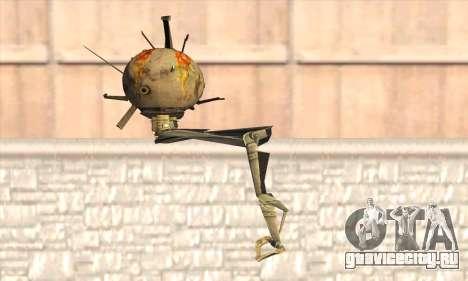 Робо Fallout 3 для GTA San Andreas второй скриншот
