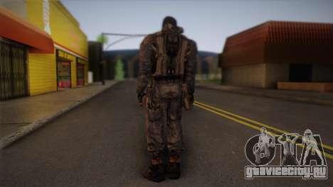 Наемник из S.T.A.L.K.E.R для GTA San Andreas второй скриншот