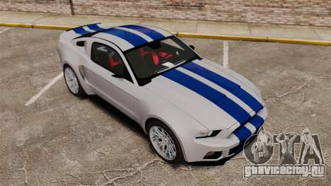 Ford Mustang GT 2013 Widebody NFS Edition для GTA 4 салон