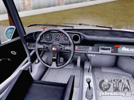 Porsche 911 RSR 3.3 skinpack 1 для GTA San Andreas вид сзади