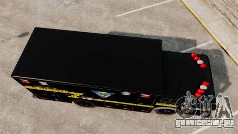 Hazmat Truck NLSP Emergency Operations [ELS] для GTA 4 вид справа