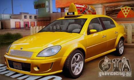 Declasse Premier Taxi для GTA San Andreas