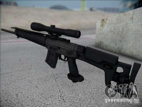 Снайперская Винтовка HD для GTA San Andreas второй скриншот