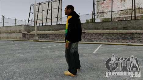 Чёрная толстовка для Playboy X для GTA 4 второй скриншот