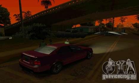 Presidente из GTA IV для GTA San Andreas вид сзади