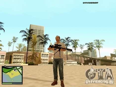 L115A3 Sniper Rifle для GTA San Andreas третий скриншот
