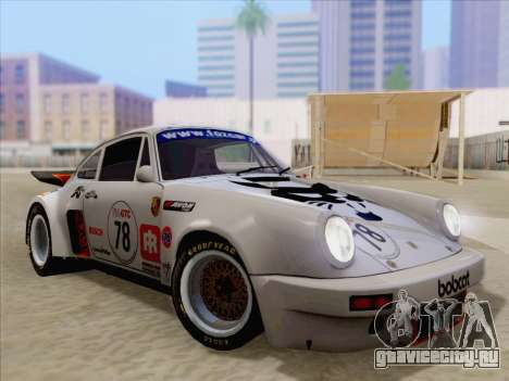 Porsche 911 RSR 3.3 skinpack 1 для GTA San Andreas двигатель