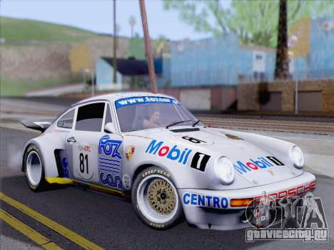 Porsche 911 RSR 3.3 skinpack 1 для GTA San Andreas