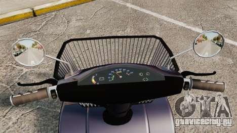 Funny Electro Scooter для GTA 4 вид сзади