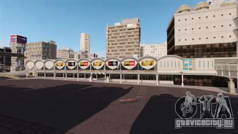 Локация Shibuya для GTA 4 второй скриншот