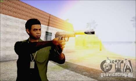 Lamar Davis GTA V для GTA San Andreas пятый скриншот