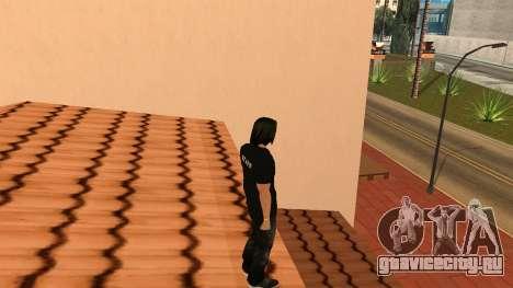 Качественный Скин STAFF для GTA San Andreas пятый скриншот