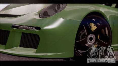RUF RGT-8 для GTA San Andreas двигатель