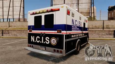 Brute NCIS [ELS] для GTA 4 вид сзади слева