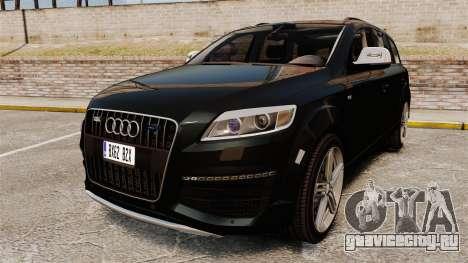 Audi Q7 Unmarked Police [ELS] для GTA 4