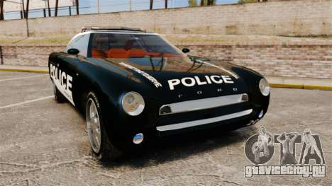 Ford Forty Nine Concept 2001 Police [ELS] для GTA 4