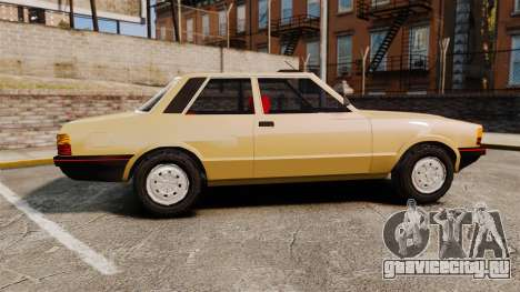 Ford Taunus GLS v2.0 для GTA 4 вид слева