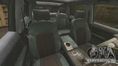 Audi Q7 Unmarked Police [ELS] для GTA 4 вид сбоку