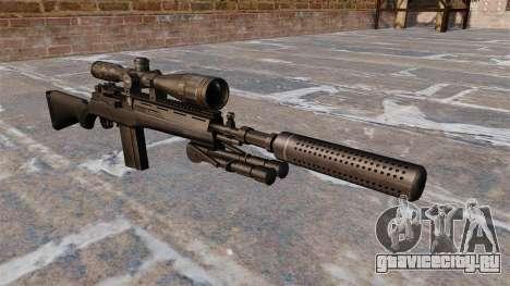 Полуавтоматическая винтовка M14 для GTA 4