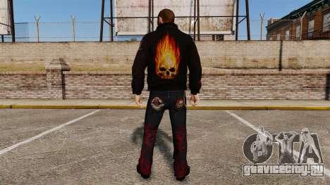 Одежда байкера для GTA 4 второй скриншот