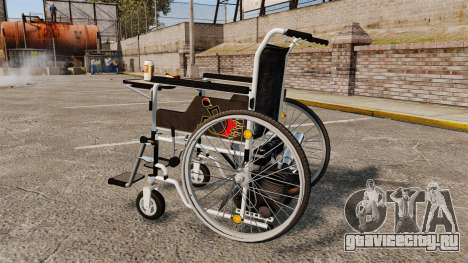 Funny Wheelchair для GTA 4 вид слева