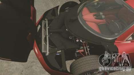 Pagani Huyara [EPM] для GTA 4 вид изнутри