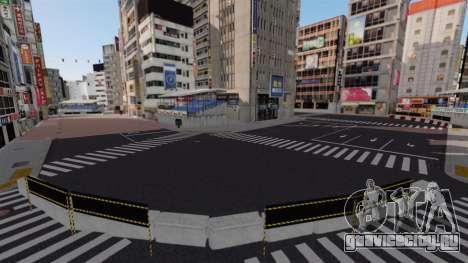 Локация Shibuya для GTA 4 шестой скриншот