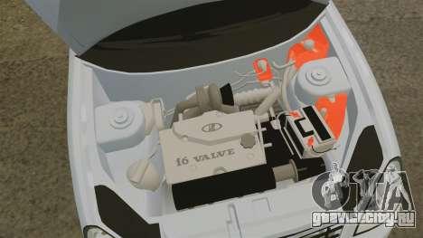 ВАЗ-2170 Formula для GTA 4 вид изнутри