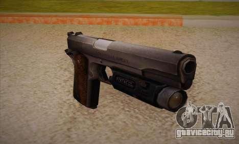 Пистолет из  Left 4 Dead 2 для GTA San Andreas