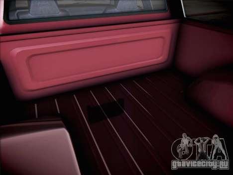 Vapid Bobcat XL из GTA V для GTA San Andreas вид сзади