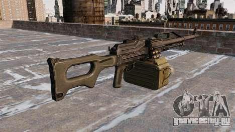 Единый пулемёт 6П41 для GTA 4 второй скриншот