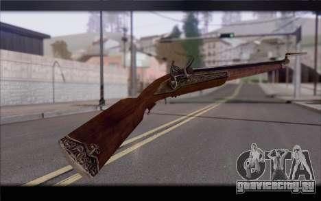 Мушкет для GTA San Andreas второй скриншот