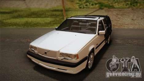 Volvo 850 Estate Turbo 1994 для GTA San Andreas вид сверху