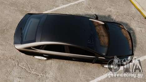 Ford Mondeo Unmarked Police [ELS] для GTA 4 вид справа
