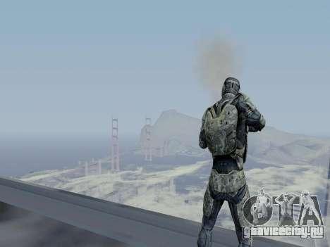 Корейский Нано-Костюм из Crysis для GTA San Andreas шестой скриншот