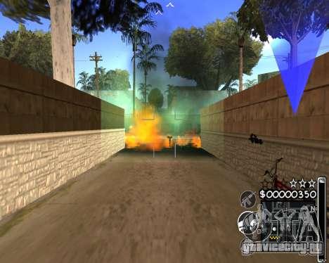 C-HUD by 6a6yuH для GTA San Andreas третий скриншот