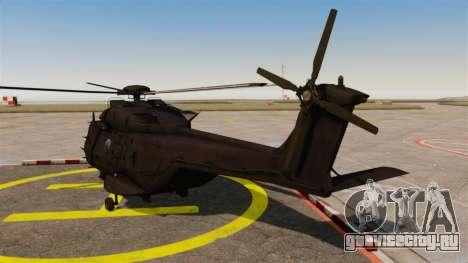 Eurocopter NHIndustries NH90 [EPM] для GTA 4 вид сзади слева