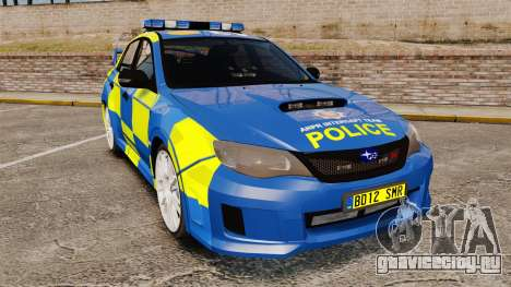 Subaru Impreza WRX STI 2011 Police [ELS] для GTA 4