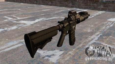 Автоматический тактический карабин M4 для GTA 4 второй скриншот