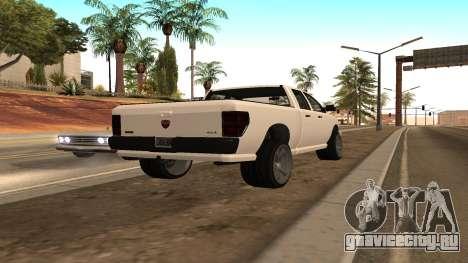 Bison из GTA 5 для GTA San Andreas вид слева