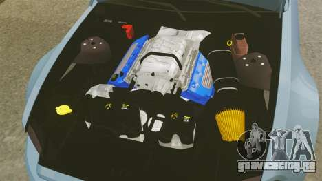 Ford Mustang GT 2013 Widebody NFS Edition для GTA 4 вид изнутри