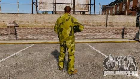 Шведская камуфляжная форма для GTA 4 второй скриншот