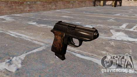 Самозарядный пистолет Walther PPK для GTA 4