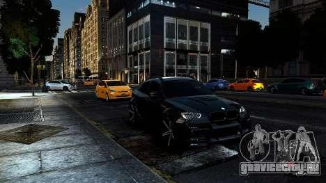 BMW X6 M Hamann 2013 Vossen для GTA 4 вид изнутри