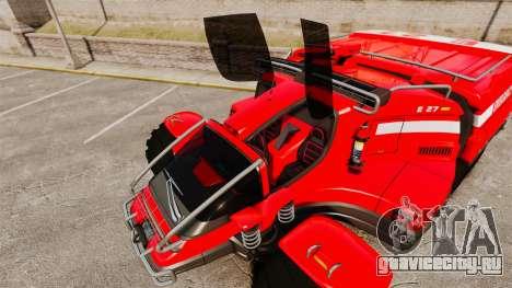 Pro Track SR2 Firetruck [ELS] для GTA 4 двигатель